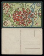 Poznań - plan centrum (ca 1905)